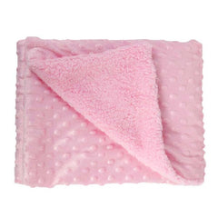 Baby Blanket Super Soft Warm Fleece Stroller Wrap Cover Quilt Swaddle Kids Newbron Bedding Blankets