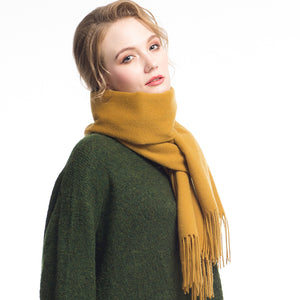 Wool Scarf Yellow