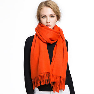 Wool Scarf Orange
