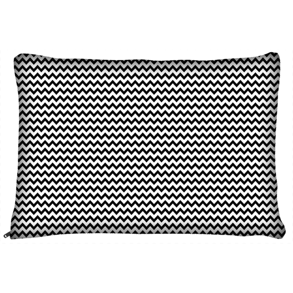 Black and White Chevron Dog Beds