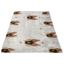Load image into Gallery viewer, German Shepherd Fleece Blanket