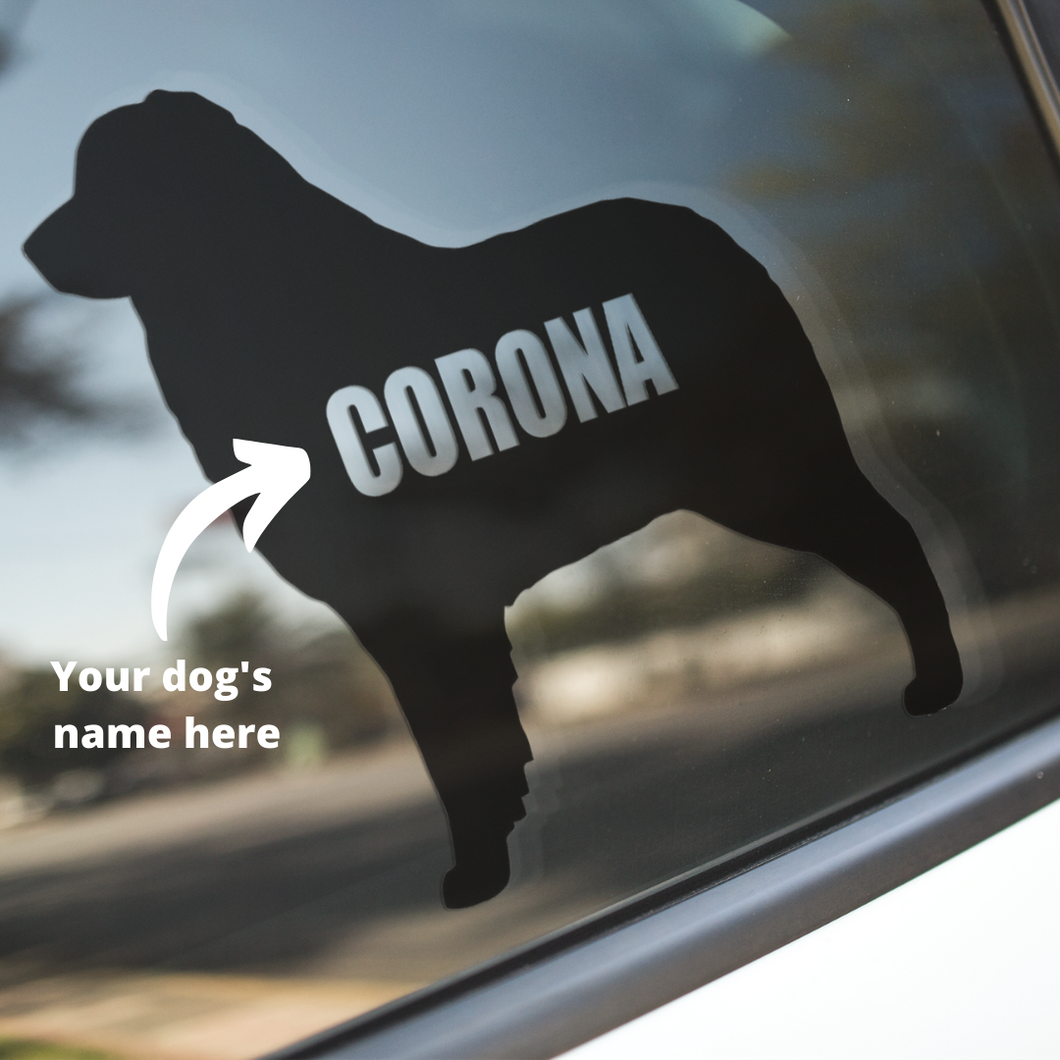 Aussie Dog Decal