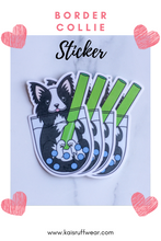 Load image into Gallery viewer, Border Collie Sticker