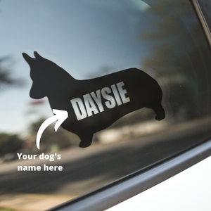 Corgi Dog Decal