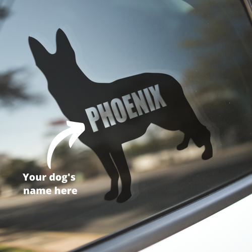 German Shepherd Dog Decal