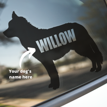 Load image into Gallery viewer, Husky Dog Decal