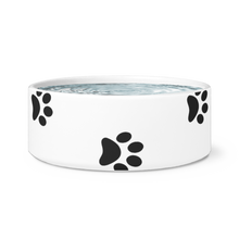 Load image into Gallery viewer, Paw Print Dog Bowl
