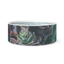 Load image into Gallery viewer, Succulent Dog Bowl