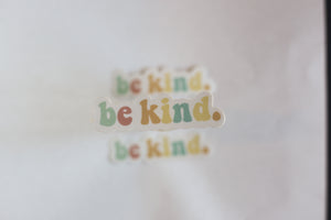 Be Kind Sticker
