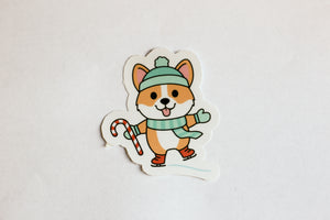 Corgi Holiday Sticker Pack