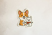 Load image into Gallery viewer, Corgi Holiday Sticker Pack