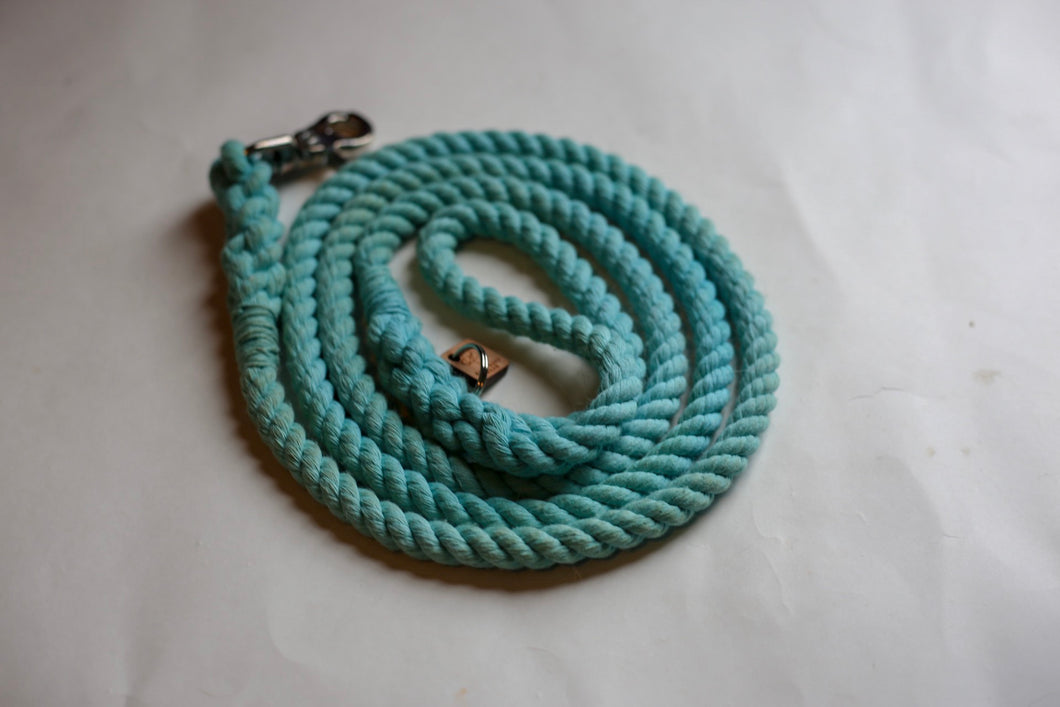 Aqua Rope Dog Leash