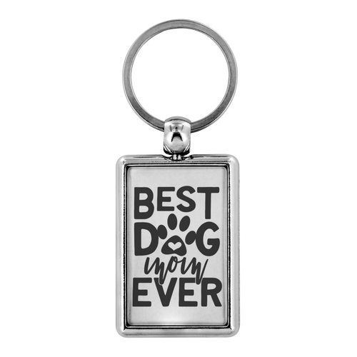 Best Dog Mom Ever Keychain
