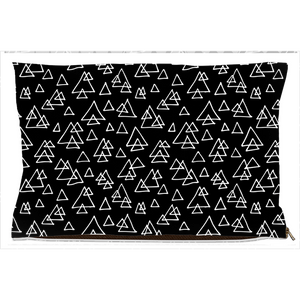 Scandi Triangles Dog Bed