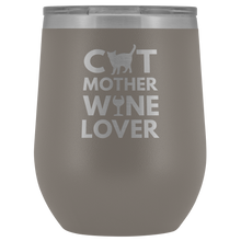 Load image into Gallery viewer, Cat Mother Wine Lover Tumbler