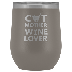 Cat Mother Wine Lover Tumbler