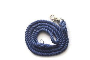 Blue Rope Dog Leash - Kai's Ruff Wear
