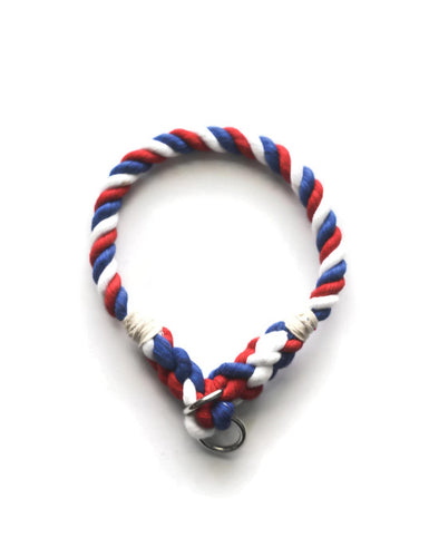 American Dog Rope Dog Collar - Kai's Ruff Wear