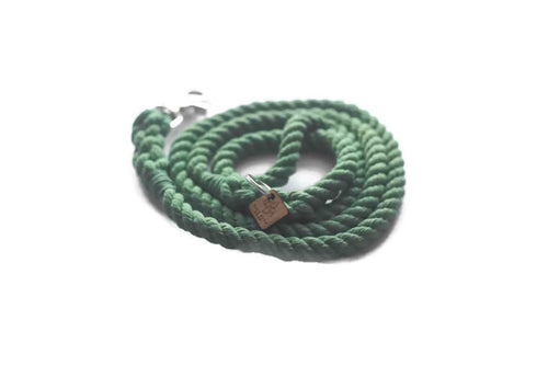 Green Rope Dog Leash - Kai's Ruff Wear