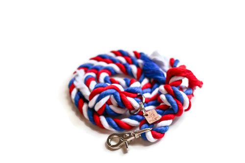 American Knotted Rope Dog Leash - Kai's Ruff Wear