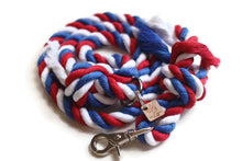 Load image into Gallery viewer, American Knotted Rope Dog Leash - Kai's Ruff Wear