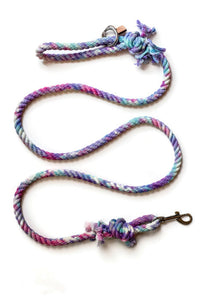 Unicorn Knotted Rope Dog Leash - Kai's Ruff Wear