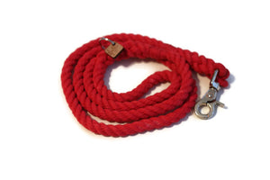Red Rope Dog Leash - Kai's Ruff Wear