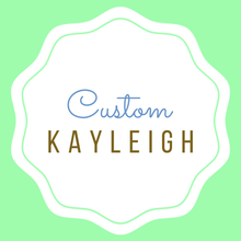 Load image into Gallery viewer, Custom Listing for Kayleigh