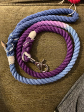 Load image into Gallery viewer, Reserved Purple To Blue Leash