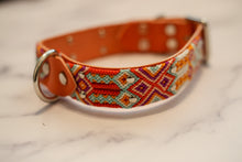 Load image into Gallery viewer, Woven Leather Dog Collar - Sunrise