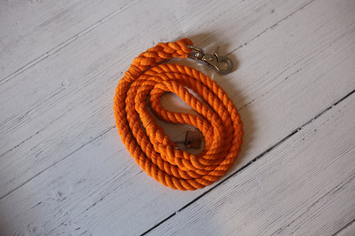 Orange Rope Leash