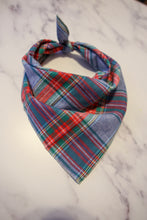 Load image into Gallery viewer, Holiday Festive Plaid Bandana