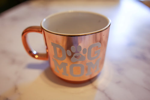 Rose Gold Metallic Mug