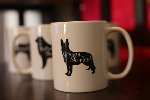 German Shepherd Mug