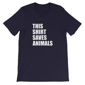 This Shirt Saves Animals Tee
