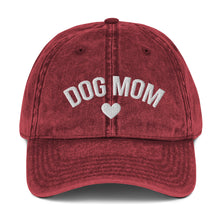 Load image into Gallery viewer, Dog Mom Vintage Hat