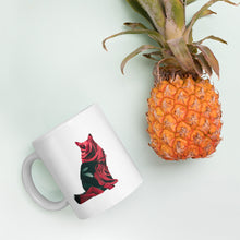 Load image into Gallery viewer, Fluffy Rose Cat Mug - Kai's Ruff Wear