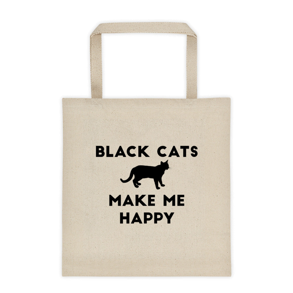 Black Cats Tote bag - Kai's Ruff Wear