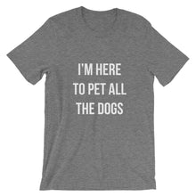 Load image into Gallery viewer, Pet All The Dogs Short-Sleeve Unisex T-Shirt - Kai's Ruff Wear