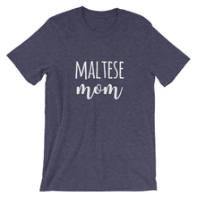Load image into Gallery viewer, Maltese Mom Short-Sleeve Unisex T-Shirt