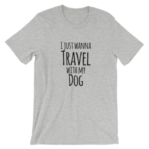 Travel with my Dog Short-Sleeve Unisex T-Shirt - Kai's Ruff Wear