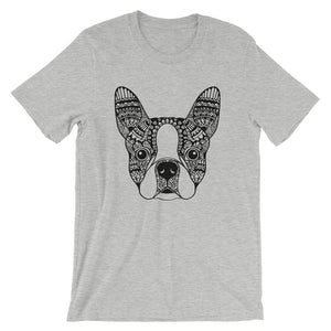 Boston Terrier Mandala T-Shirt