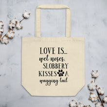 Load image into Gallery viewer, Love is...Dogs Tote Bag