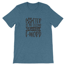 Load image into Gallery viewer, Foster is my Second Favorite F Word T-Shirt