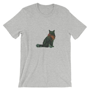 Forest Cat Short-Sleeve Unisex T-Shirt - Kai's Ruff Wear