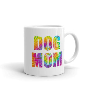 Dog Mom (Tie-Dye) Mug