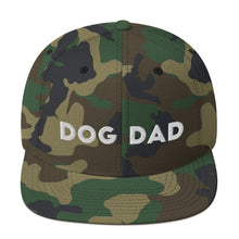 Load image into Gallery viewer, Dog Dad Snapback Hat
