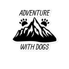 Load image into Gallery viewer, Adventure with Dogs Sticker