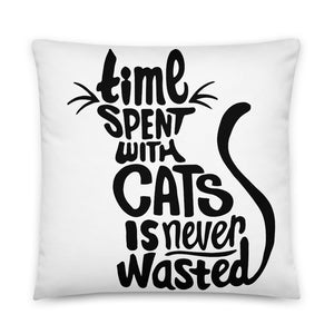 Time With Cats Pillow