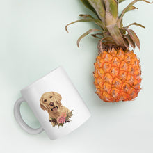 Load image into Gallery viewer, Floral Golden Retriever Mug